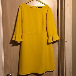 Banana Republic Flutter Sleeve Dress: 8